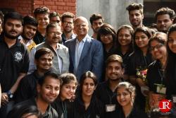With young brilliants minds of Kirori Mal College, Delhi University