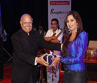 With Shreya Ghoshal