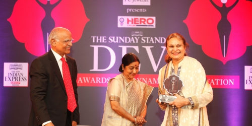 Amla Ruia receives award for being 'Water Mother' to a hundred villages