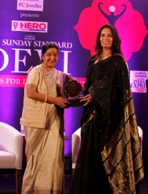 Mamta Singh receives award for standing up for human rights