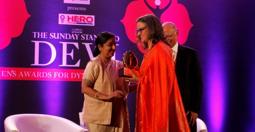 Namita Gautam receives award for championing social causes