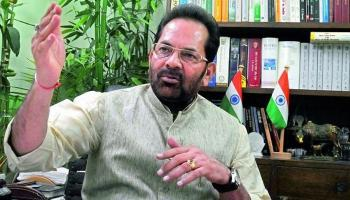 Mukhtar Abbas Naqvi with Most Senior Journalist Prabhu Chawla in Sachchi Baat