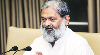 Cabinet Minister of Haryana Anil Vij in Siddhi Gall