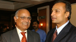 With Chairman of Reliance Infrastructure Anil Ambani