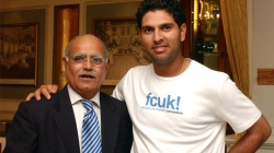With Cricketer Yuvraj Singh