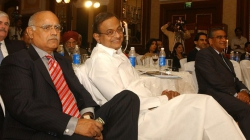 With Member of Parliament, Rajya Sabha and former Union Minister of Finance of India P. Chidambaram