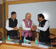 Chief Guest  @Valedictory Function of IIS Group A Mid Career Training Program ; DG IIMC